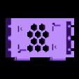 LM2596S-Base-v2.stl Download free STL file LM2596 and LM2596S Buck converter tool-less snap-fit enclosure - Ender, CR-10, 2020 • 3D printer template, FedorSosnin