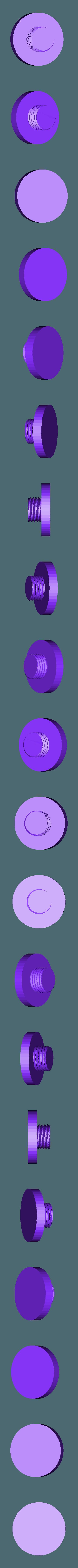 """Ender_3_Adjustable_Feet_-_Foot_v1.stl Download free STL file Ender 3 Adjustable Feet (2"""") • Design to 3D print, FedorSosnin"""