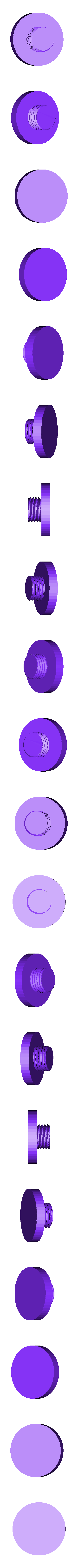 "Ender_3_Adjustable_Feet_-_Foot_v1.stl Télécharger fichier STL gratuit Ender 3 Pieds réglables (2"") • Modèle à imprimer en 3D, FedorSosnin"
