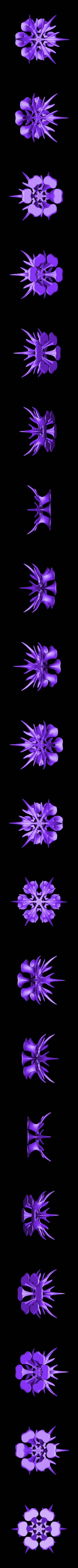 corbeille.stl Télécharger fichier STL gratuit corbeille flocon de neige • Modèle à imprimer en 3D, micaldez