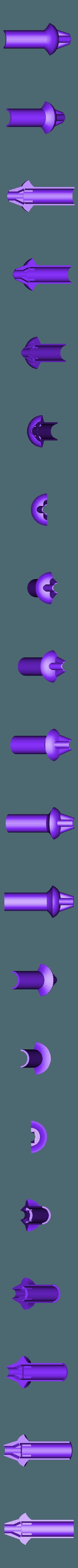 MS-Pommel.stl Download free STL file LED Zelda Master • 3D printable template, Adafruit