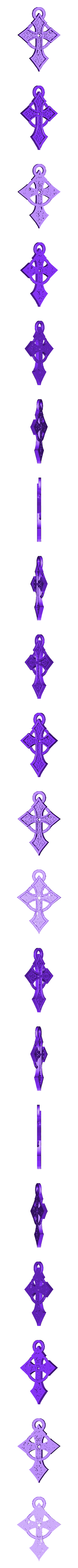 Croix celtique pendentif.stl Download free STL file Celtic Cross Pendant • 3D printer object, oasisk