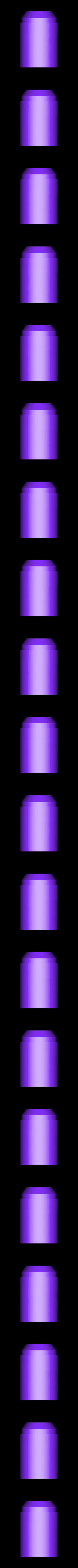 Upper_Small_base_v4.stl Télécharger fichier STL gratuit Clone Wars Era Rockets pour Boba Fett Jet Pack • Modèle pour impression 3D, ewr2san