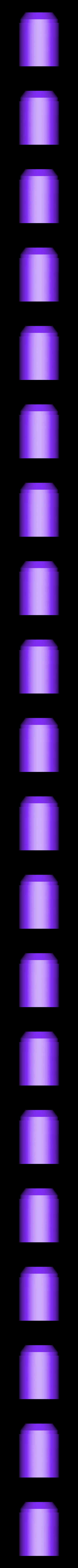 Upper_Large_base_v3.stl Télécharger fichier STL gratuit Clone Wars Era Rockets pour Boba Fett Jet Pack • Modèle pour impression 3D, ewr2san