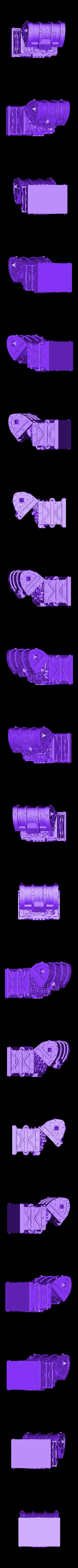 DRUID-OPENED.stl Download free STL file TREASURE CHEST OPENED • 3D printer model, PrintYourMonsters