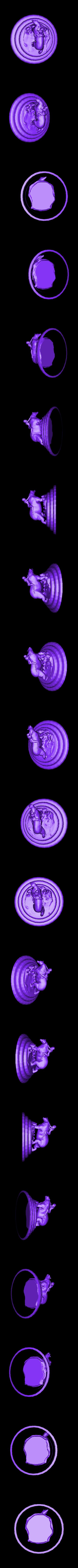 GirlOnABear.stl Télécharger fichier STL gratuit Fille sur un ours polaire • Objet imprimable en 3D, Boris3dStudio