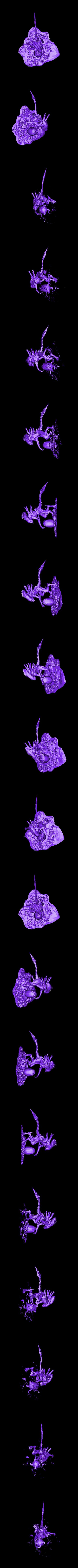 ALIEN.stl Download free STL file Alien with the Egg • 3D print design, Boris3dStudio