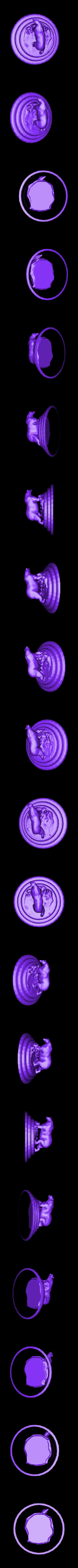 """BEAR.stl Télécharger fichier STL gratuit Ours polaire """"Justin"""" • Design imprimable en 3D, Boris3dStudio"""