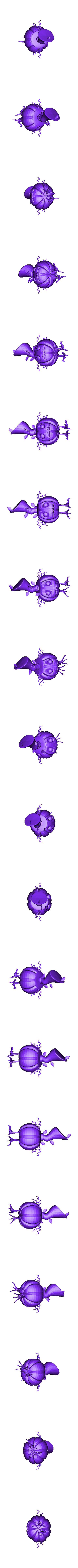 untitled.stl Download free STL file Cute  pumpkin • 3D printing object, Boris3dStudio