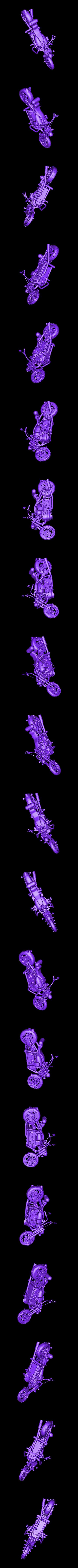 Byke.stl Download free STL file Chopper bike • Model to 3D print, Boris3dStudio