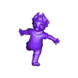 ZABIVAKA_READY_LOWER.stl Télécharger fichier STL gratuit Zabivaka, mascotte officielle de la Coupe du Monde de la FIFA 2018 • Objet pour impression 3D, Boris3dStudio