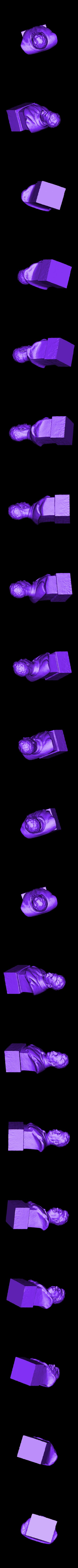 STALINREADY.stl Télécharger fichier STL gratuit Staline BUST du musée GORKI LENINSKIYE • Design pour impression 3D, Boris3dStudio