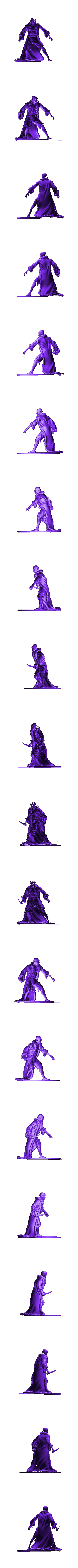 Thif.stl Download free STL file Thief with furcoat • 3D print model, Boris3dStudio