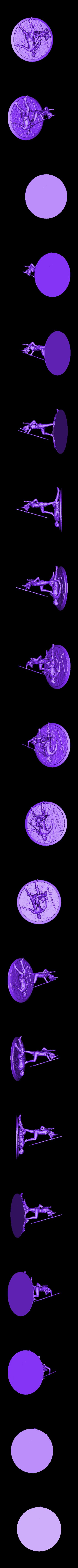 Amazonka_repaired.stl Télécharger fichier STL gratuit Fille guerrière amazonienne avec le spire • Design pour impression 3D, Boris3dStudio