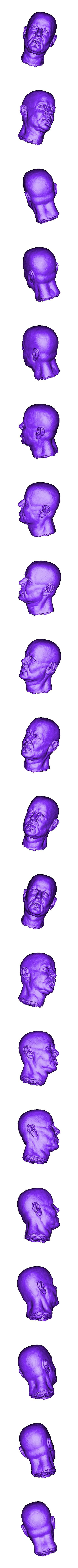 Head_repaired.stl Download free STL file Soul Reaper demon hunter • 3D print object, Boris3dStudio