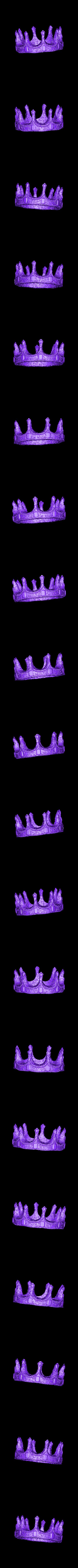 Crown_repaired.stl Download free STL file Soul Reaper demon hunter • 3D print object, Boris3dStudio