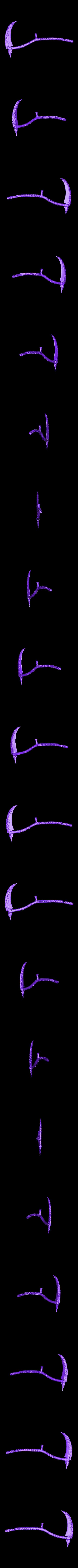Blade_repaired.stl Download free STL file Soul Reaper demon hunter • 3D print object, Boris3dStudio