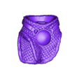 Hips_repaired.stl Download free STL file Soul Reaper demon hunter • 3D print object, Boris3dStudio