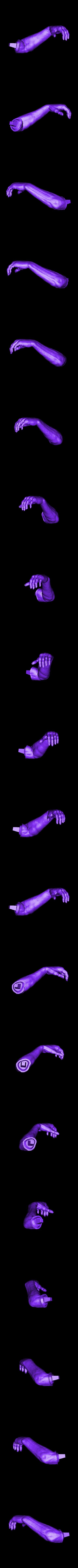 HandL_repaired.stl Download free STL file Soul Reaper demon hunter • 3D print object, Boris3dStudio