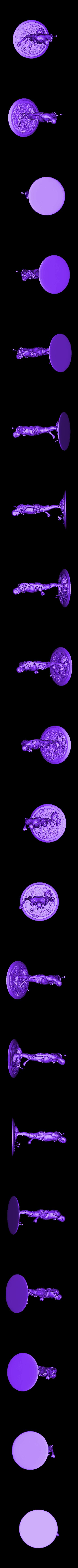 monster_repaired.stl Download free STL file Cannibal tabletop figure • 3D printing object, Boris3dStudio
