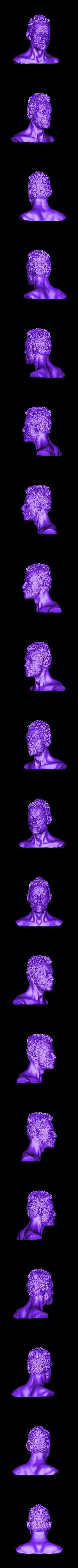 MR.stl Download free STL file Elliot (Mr. Robot)  Rami Malek • 3D printer object, Boris3dStudio