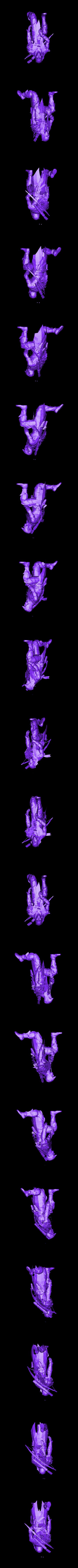 HUNTER.stl Download free STL file Hunter • 3D print template, Boris3dStudio