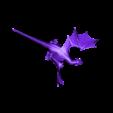 Charizard.stl Télécharger fichier STL gratuit Charizard Dragon réaliste • Modèle à imprimer en 3D, Boris3dStudio
