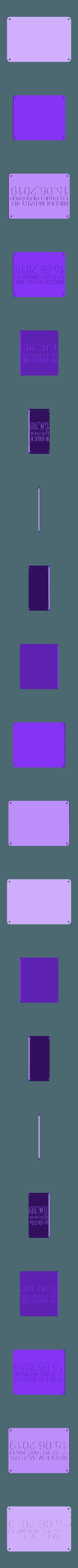 box_flap.stl Télécharger fichier STL gratuit Planche de bricolage électrique Longboard • Objet imprimable en 3D, NikodemBartnik