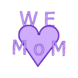 We_Love_Mom_platform.stl Download free STL file We Love Mom ! • 3D print model, LarryBerstilta