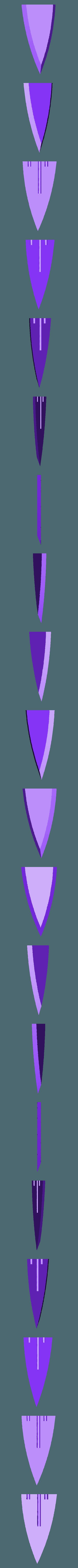 GABB1.stl Télécharger fichier STL gratuit Epée de verre (Skyrim) • Modèle à imprimer en 3D, LarryBerstilta