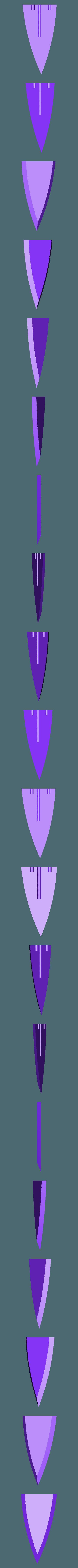GABB9.stl Télécharger fichier STL gratuit Epée de verre (Skyrim) • Modèle à imprimer en 3D, LarryBerstilta