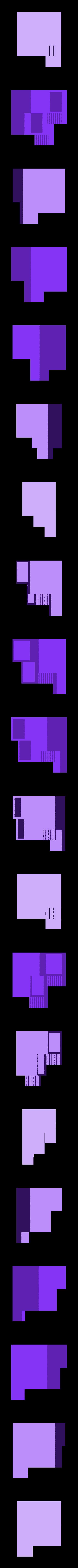Flat.stl Download free STL file Flower_pot • 3D printing object, 02_mm