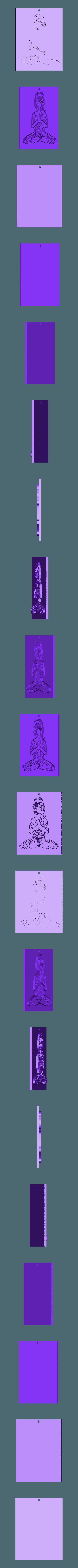 Zen_en Relief.stl Download free STL file Zen • 3D printer model, oasisk