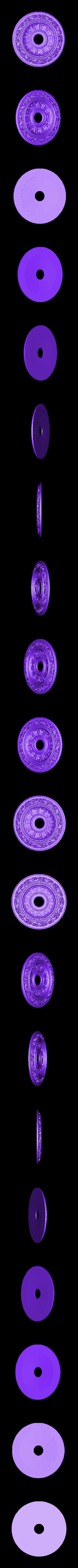 26.stl Télécharger fichier OBJ gratuit Moulures vintage pour vieux appartements classiques cnc art machine à router 3D printed • Modèle à imprimer en 3D, 3DPrinterFiles