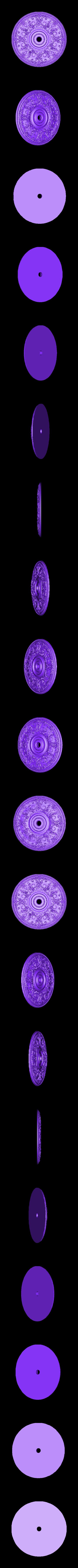 36.obj Télécharger fichier OBJ gratuit Moulures vintage pour vieux appartements classiques cnc art machine à router 3D printed • Modèle à imprimer en 3D, 3DPrinterFiles