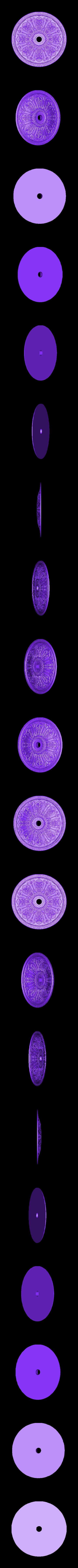 38.stl Télécharger fichier OBJ gratuit Moulures vintage pour vieux appartements classiques cnc art machine à router 3D printed • Modèle à imprimer en 3D, 3DPrinterFiles
