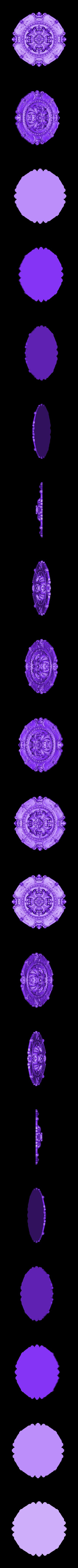 41.stl Télécharger fichier OBJ gratuit Moulures vintage pour vieux appartements classiques cnc art machine à router 3D printed • Modèle à imprimer en 3D, 3DPrinterFiles