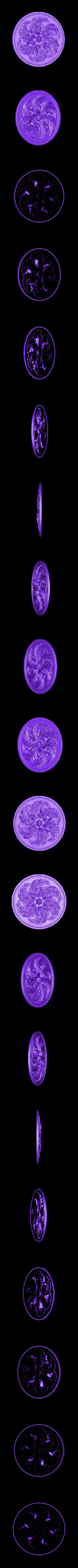 46.stl Télécharger fichier OBJ gratuit Moulures vintage pour vieux appartements classiques cnc art machine à router 3D printed • Modèle à imprimer en 3D, 3DPrinterFiles