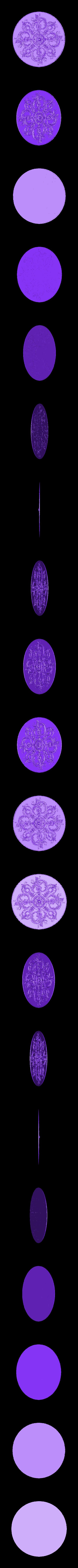 49.OBJ Télécharger fichier OBJ gratuit Moulures vintage pour vieux appartements classiques cnc art machine à router 3D printed • Modèle à imprimer en 3D, 3DPrinterFiles
