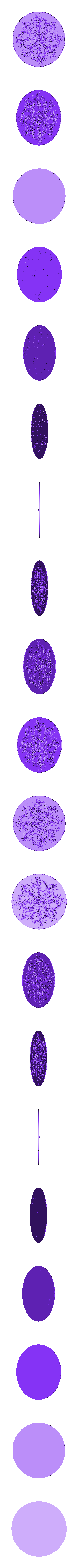 49.stl Télécharger fichier OBJ gratuit Moulures vintage pour vieux appartements classiques cnc art machine à router 3D printed • Modèle à imprimer en 3D, 3DPrinterFiles