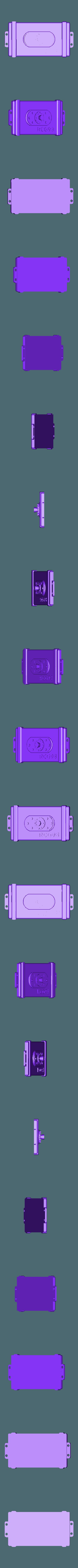 RESERVOIR couv.stl Download free STL file tank rc 1/10 electro box • 3D printable model, RCGANG93