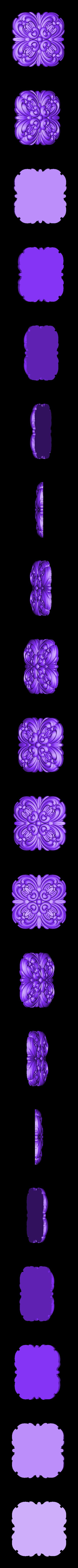 rozetka5.stl Télécharger fichier STL gratuit Moulures vintage pour vieux appartements classiques cnc art machine à router 3D printed • Modèle à imprimer en 3D, stl3dmodel