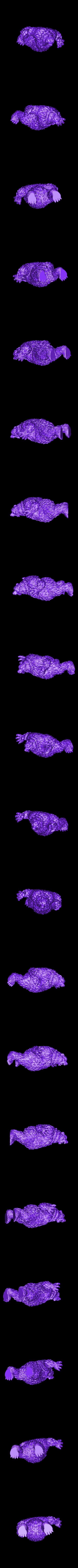 Bear_Standing.stl Télécharger fichier STL gratuit Ours de Rawwwwr • Modèle à imprimer en 3D, DarkRealms