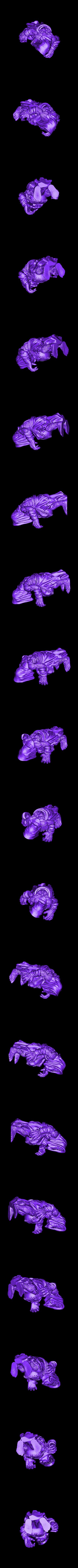 Crone2_v2.stl Download free STL file Witcher 3 Crone 2 • 3D printer design, DarkRealms