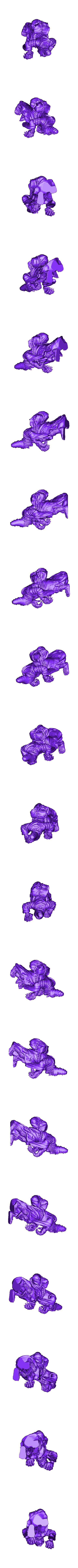 Crone3.stl Télécharger fichier STL gratuit Witcher 3 Crone 3 • Modèle à imprimer en 3D, DarkRealms