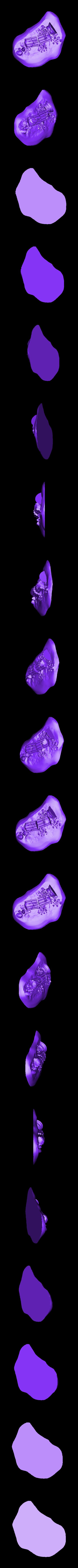 JAN19_RUINS_1.stl Télécharger fichier STL gratuit Colonne de ruines romaines/grecques • Plan pour imprimante 3D, DarkRealms