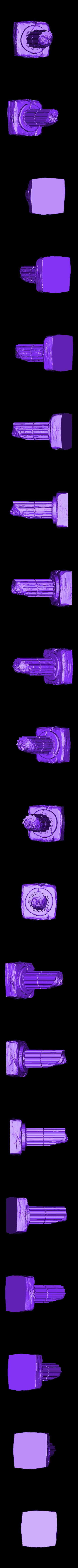 Column_D.stl Télécharger fichier STL gratuit Colonne de ruines romaines/grecques • Plan pour imprimante 3D, DarkRealms