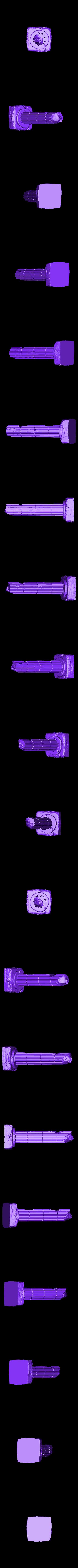 Column_C.stl Télécharger fichier STL gratuit Colonne de ruines romaines/grecques • Plan pour imprimante 3D, DarkRealms