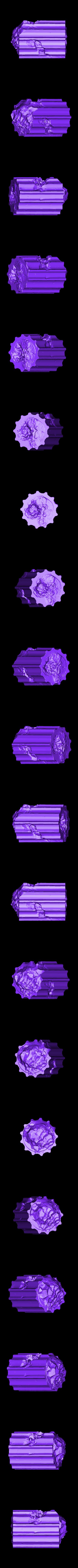 Fallen_Column_E.stl Télécharger fichier STL gratuit Colonne de ruines romaines/grecques • Plan pour imprimante 3D, DarkRealms