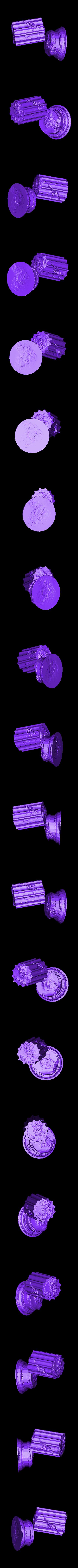Fallen_Column_B.stl Télécharger fichier STL gratuit Colonne de ruines romaines/grecques • Plan pour imprimante 3D, DarkRealms